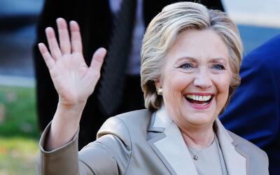 Hillary Clinton aprovecha su visita en Houston para hablar de Donald Tru...