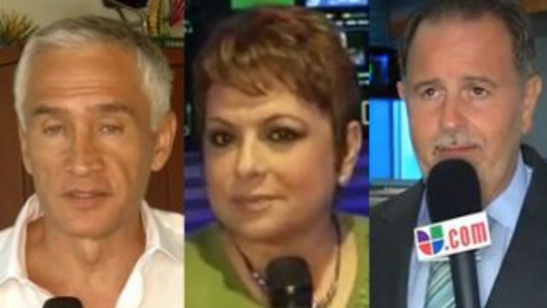 Talentos de Univision, como gente alrededor de todo el mundo, recuerdan...