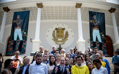Julio Borges, presidente de la ANV, denunció este jueves que el p...