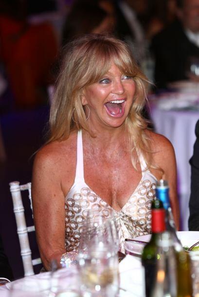 Lo sacó de su mamá, Goldie Hawn. Mira aquí lo último en chismes.