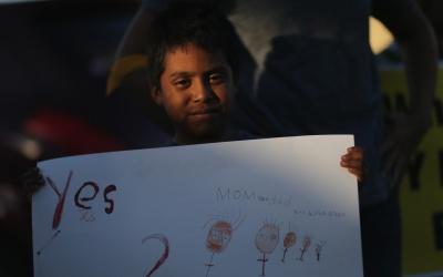 Inmigrantes podrían traer a sus hijos a EEUU
