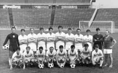 La selección húngara que conquistó la medalla de oro en México 68