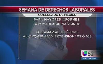 Semana de derechos laborales en Austin