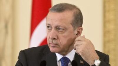 El presidente de Turquía,Recep Tayyip Erdogan.