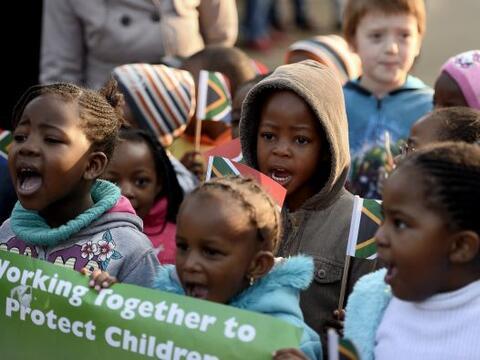 Con cientos de actos en todo el país, millones de sudafricanos ce...