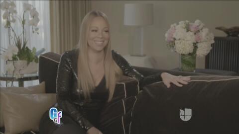 Esto fue lo que dijo Mariah Carey al recibir su anillote de comprimiso