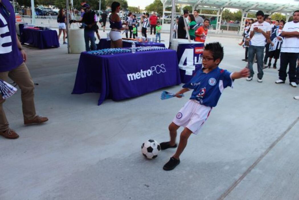 Ambiente de Cruz Azul vs. Rayados en Houston