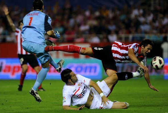 El encuentro resultó un mar de goles por ambos conjuntos.