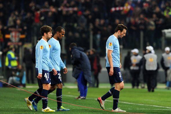 Lazio está obligado a ganar por dos goles o más en el pr&o...