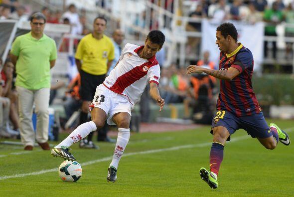 El Rayo Vallecano siguió en busca de un gol que nunca le llegó.