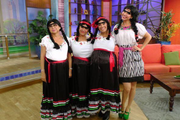 El humor no podía faltar. Así se preparaban estas cuatro mujeres para re...