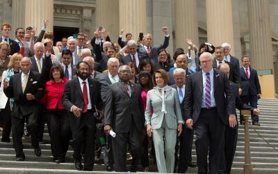 La lista de congresistas demócratas que no asistirán a la...