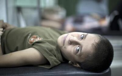Niños en Gaza: atrapados en medio de una guerra