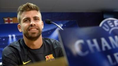 Piqué prefiere seguir trabajando en busca del mejor juego del Barcelona...