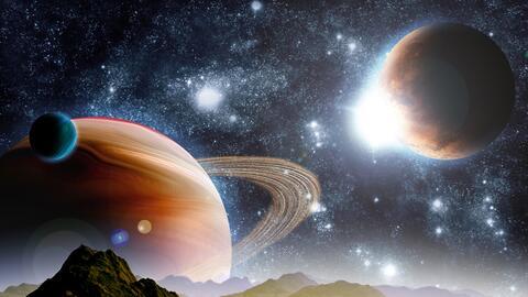 ¡Venus y Júpiter en una conjunción planetaria!