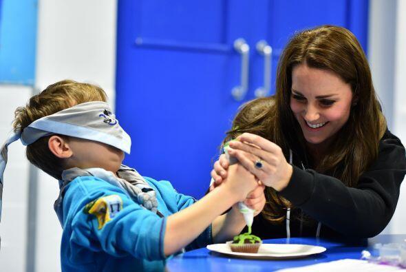 ¡Jugaban con la duquesa de Cambridge!