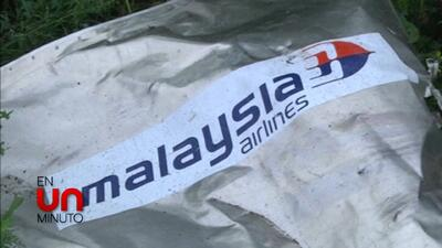 En Un Minuto: Malaysia Airlines compensará a familiares de víctimas