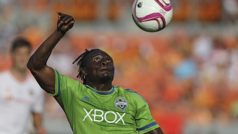 Obafemi Martins, el goleador de Seatte Sounders