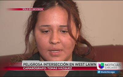 Peligrosa intersección en la West Lawn