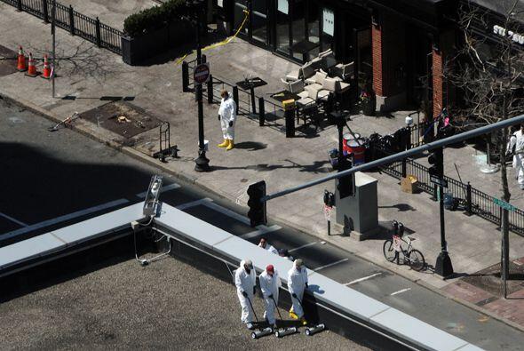 Tragedia en el Maratón de Boston Las bombas en el Maratón...