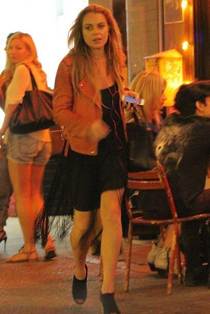 En su estancia en Nueva York, la actriz tuvo la buena suerte de encontra...