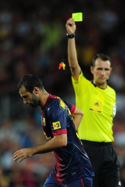 Su dura barrida ante la incorporación de Fabio Coentrao le valió la amon...