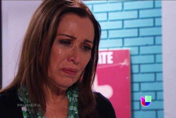 No esté tan triste doña Lupita. Esperamos que Javier poco a poco se recu...