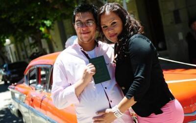 Transexual argentino dio a luz