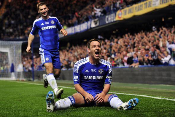 Por si fuera poco, convirtió un importante gol para los 'Blues', que gan...