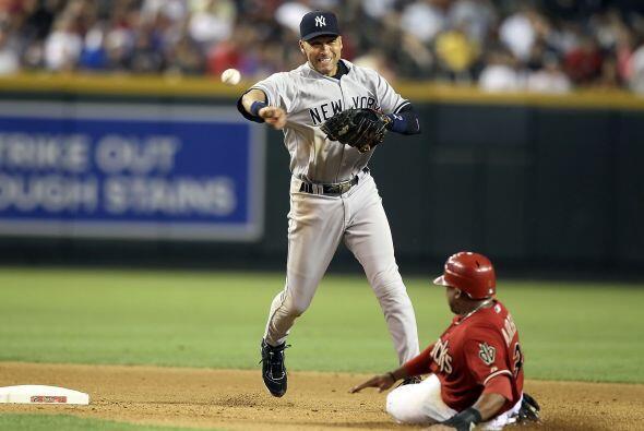 El símbolo de los Yankees, Derek Jeter, fue elegido por los aficionados...