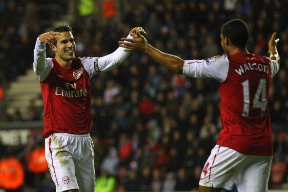 Con el 4 a 0, Arsenal respira y sueña.