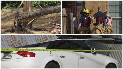 Árboles caídos, techos rotos y ventanas destruidas, el balance de la tor...