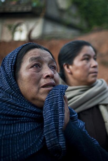 La búsqueda de 11 personas desaparecidas se intensificaba este miércoles...