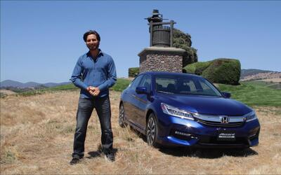 A bordo del Honda Accord Hybrid 2017