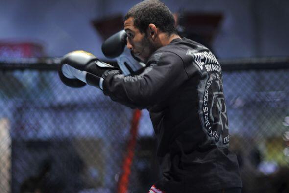 """El """"Brazilian Cobra"""" de 24 años, fue nombrado en 2009 el mejor luchador..."""