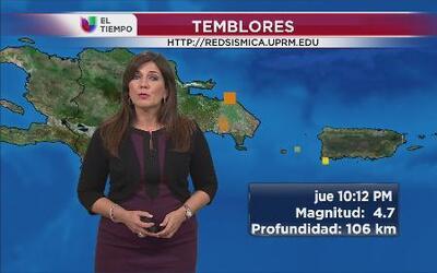 Tiembla en la República Dominicana