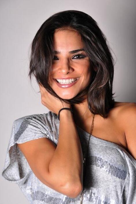 La mexicana además de bella es talentosa, pues tiene talento natural par...