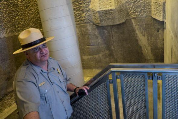 En agosto de 2011 un terremoto de magnitud 5.8 resquebrajó el obelisco d...