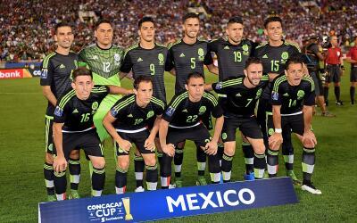 El Tri que participó en la Copa Oro 2015.