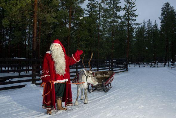 Y en Finlandia la Navidad más bien está volcada sobre Papá Noel. Resulta...
