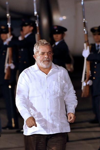 El popular y próximo a dejar el mandato presidente de Brasil, Lui...