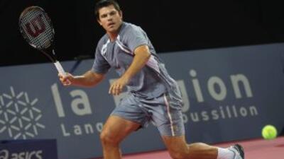 Taylor Dent en una de sus últimas participaciones en un torneo de la ATP...