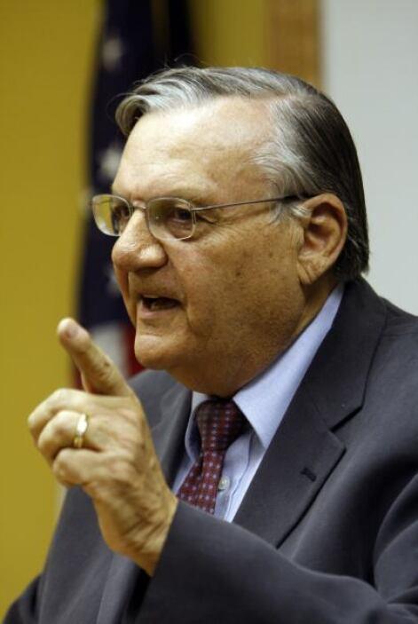 """En mayo de 2011, Arpaio pasó de acusador a acusado """"otra vez. Él tenía u..."""