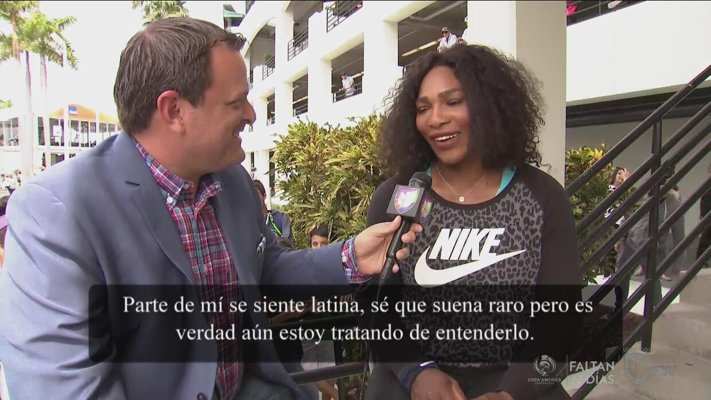 """Serena Williams: """"Parte de mi se siente latina"""""""
