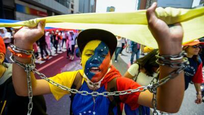 Manifestación en Venezuela