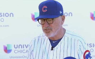Joe Maddon nos habla sobre la pretemporada de los Cubs y cómo aprendió e...