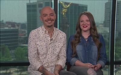 Jesse y Joy nos dicen por qué los latinos en Estados Unidos deben salir...
