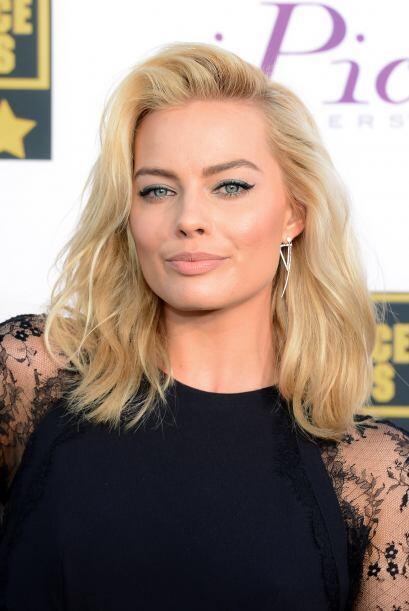 """9. MARGOT ROBBIE La australiana de 23 años conquistó a DiCaprio en """"The..."""