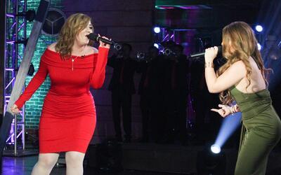 Dayana García y Sandra Itzel pusieron a todo el mundo a bailar con 'El S...