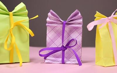 DIY: Do It Yourself Manualidades para Papás y Mamás - Bolsas de Regalito